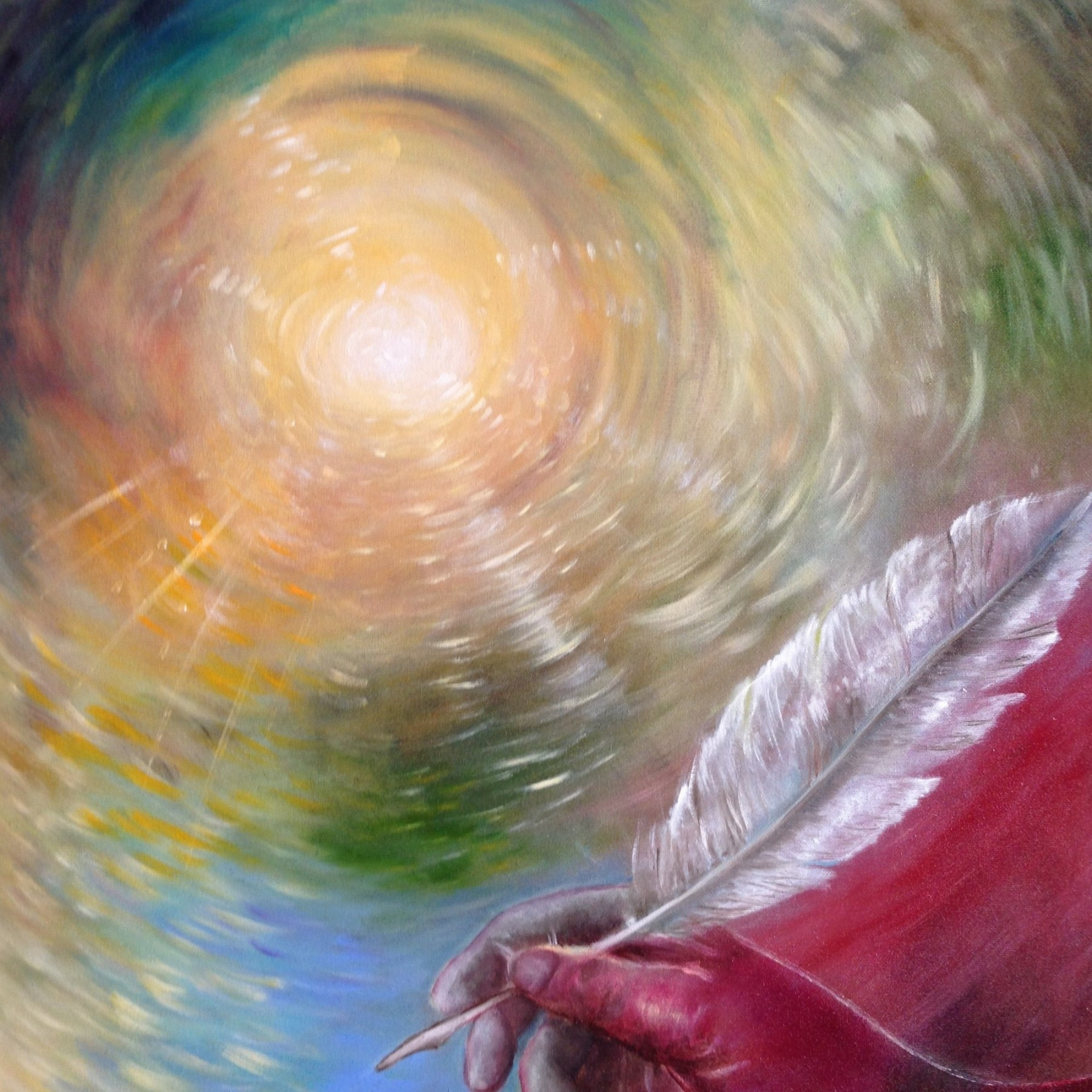 La Promessa del Regno Messianico, 2013, Oil on canvas, 50x70cm - exhibitions