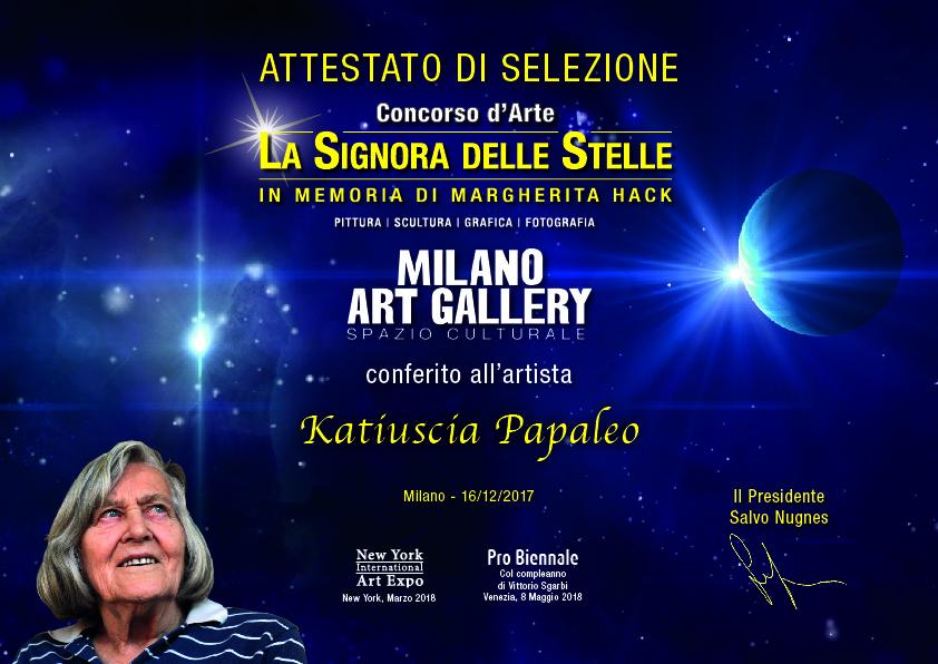 La Signora delle Stelle - In memory of Margherita Hack