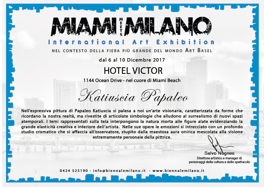 Miami meets Milano - International Art Exhibition