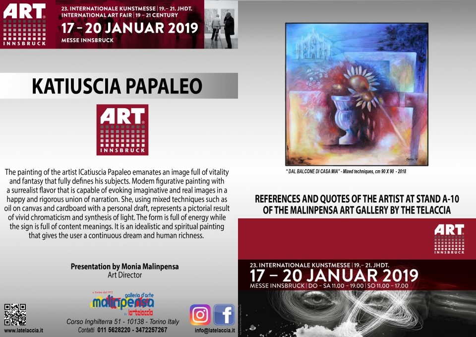 Innsbruck 2019 - 23° Fiera d'Arte Internazionale Contemporanea Art