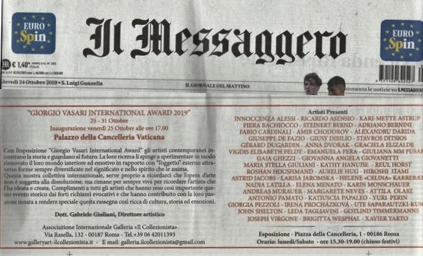 Il Messaggero - International Award 2019